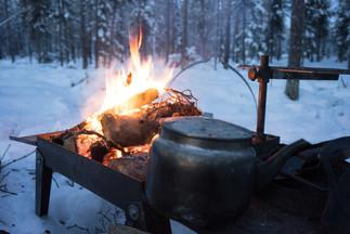 Winter-Grillen