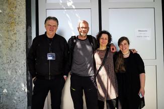 Hans Strand, Erlend & Orsolya Haarberg, Sandra Bartocha