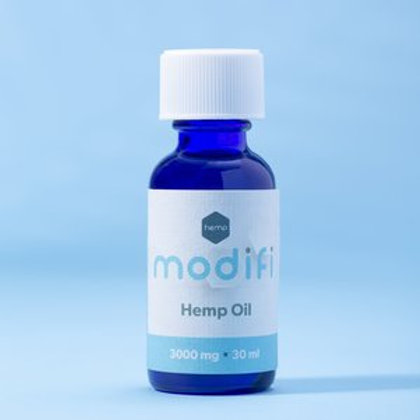 Modifi 3000mg Hemp Isolate Oil (1oz/30ml) - THC Free