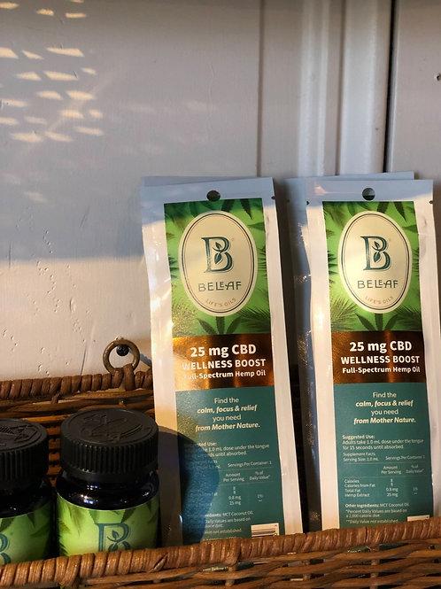 BeLeaf Full Spectrum Oil - 25 mg Wellness Boost