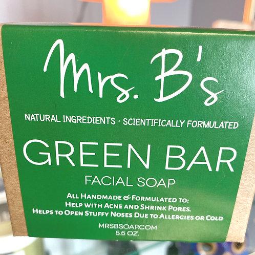 Green Bar Soap