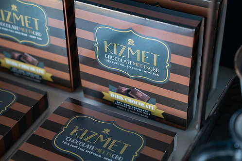 Kizmet Dark Chocolate Sea Salt - 5mg per square