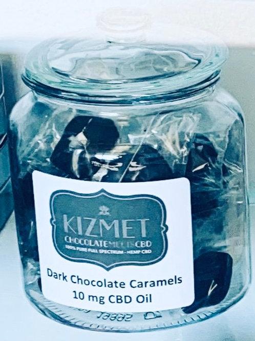 Kizmet Dark Chocolate Caramel Singles