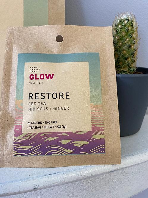 Glow Tea - Restore THC Free 1 Tea Bag