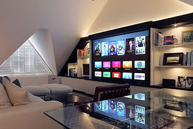 Award Winning Savant Media Room In Highgate London