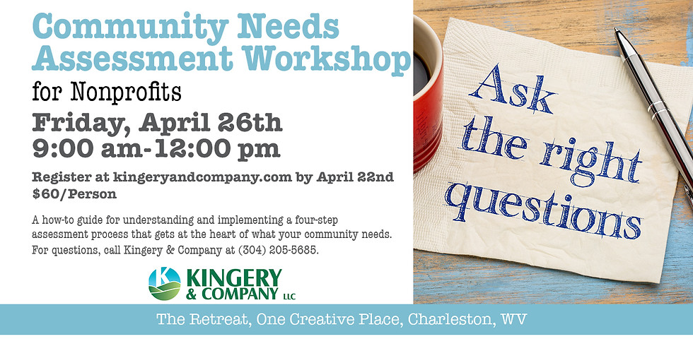 Community Needs Assessment Workshop for Nonprofits