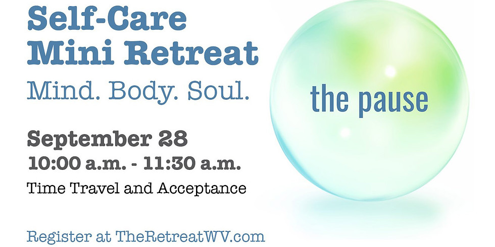 """09/28 """"Time Travel and Acceptance"""" 
