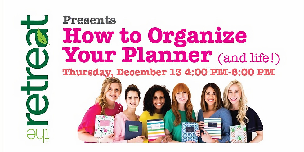 How to Organize Your Planner (and life!)