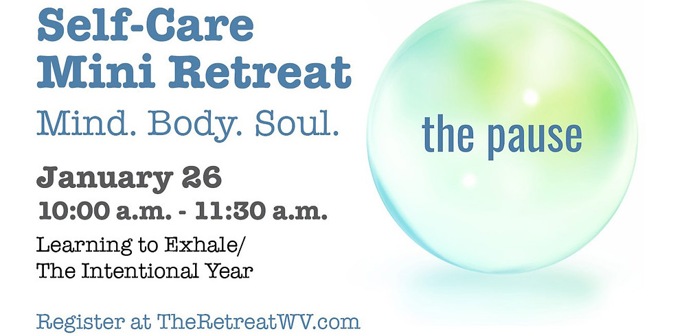 """01/26 """"Learning to Exhale/The Intentional Year"""" 