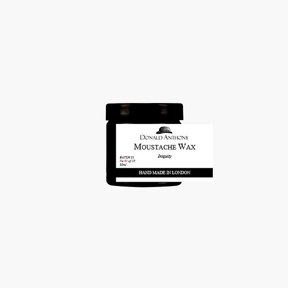 MOUSTACHE WAX, INIQUITY