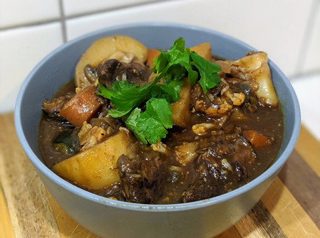 Hearty Stew (Gluten Free/ Soy Free/ Dairy Free/ Low in Fat/ No Oven)