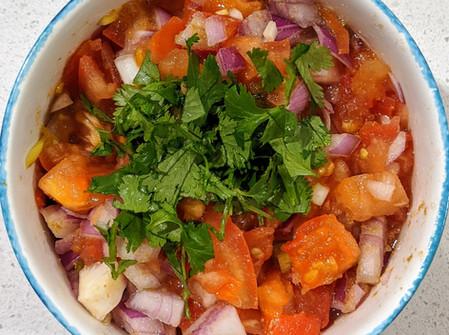 Homemade Salsa (Gluten Free/Vegan/No Sugar)