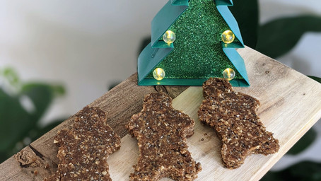 Raw Gingerbread Men (Vegan/Gluten Free)