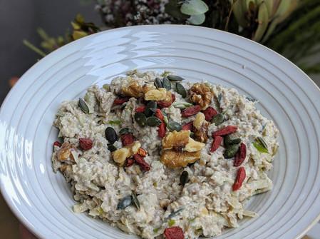Bircher Muesli (Gluten Free/ Dairy Free/ Vegan/ No Refined Sugar)