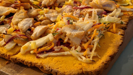 Sweet Potato Pizza Base (Gluten Free/ Dairy Free)