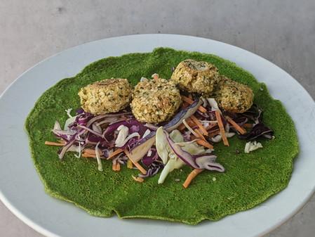 Hemp Seed Falafels (Gluten Free/Vegan)