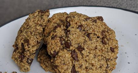 Choc Chip Cookies (Gluten Free/ Vegan/ No Refined Sugar)
