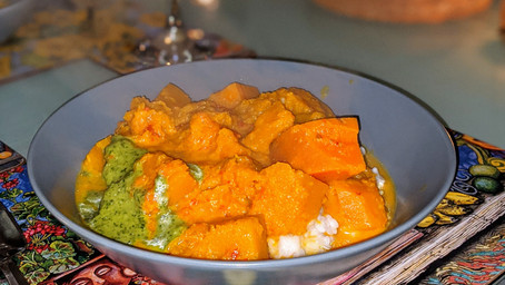 Orange Curry (Gluten Free/Vegan)