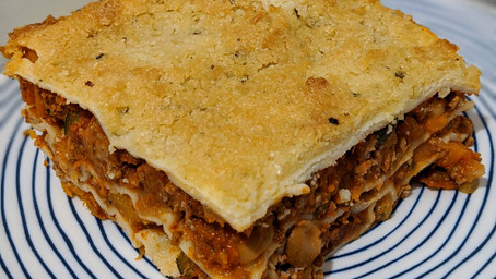Homemade Lasagna (Gluten/Dairy Free)