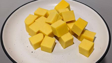 Chickpea Tofu (Gluten/Soy free + Vegan)