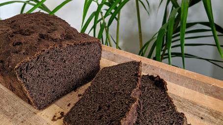 Black Sesame Gluten Free Bread (Gluten/Soy/Dairy Free)