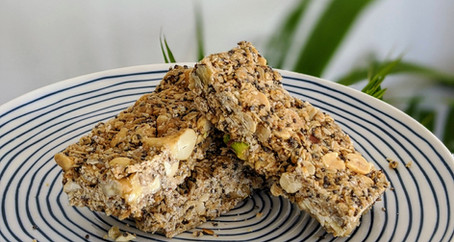 Nut Bars (Gluten, Dairy and Soy Free/ No Refined Sugar)