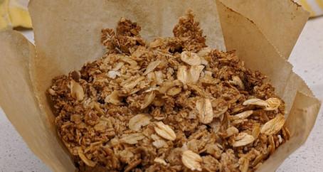 Apple Crumble Muffins (Gluten Free/ Vegan/ No Refined Sugar)