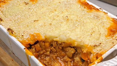 Turkey Cottage Pie (Gluten Free/Dairy Free/Low Fat)