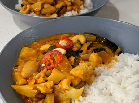 Simple Curry (Vegan/Gluten Free)