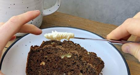 Banana flour Banana Bread (Gluten Free/ Dairy Free/ Vegan Option/ No Refined Sugar)