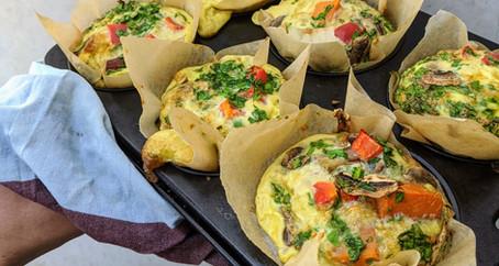 Healthy Quiche Muffins (Gluten/Dairy/Soy Free)