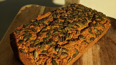 Pumpkin Bread (Gluten Free/ Vegan/ No Refined Sugar/ No Oil)