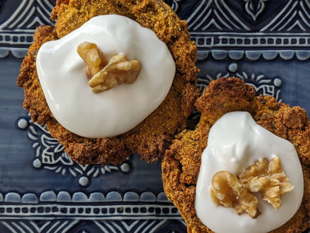 Healthy Carrot Cake Muffins (Gluten, Dairy and Soy Free/ Vegan/ No Refined Sugars)