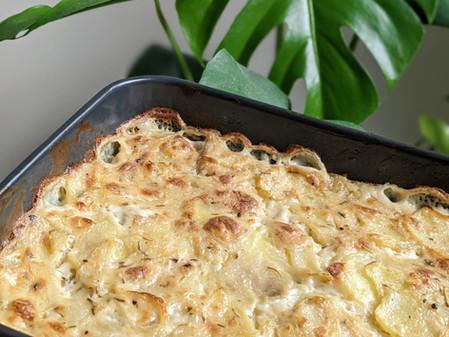 Vegan Potato Bake (Vegan/ Gluten Free/ Dairy Free)