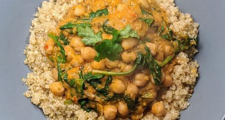 Chickpea Tikka Masala (Gluten Free/ Vegan)