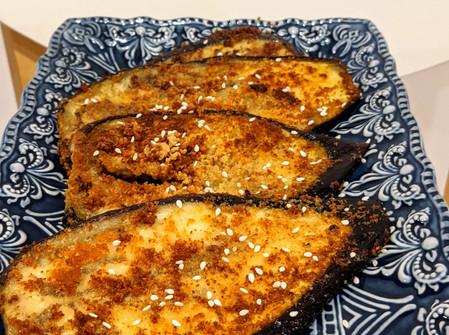 Crumbed Miso Eggplant (Gluten-Free/Vegan)