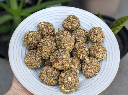 Nutty Energy Balls (Vegan/Gluten Free/ No refined Sugar)