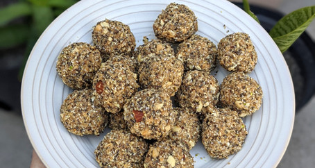 Nutty Energy Balls (Vegan/Gluten Free/ No refined Sugar)