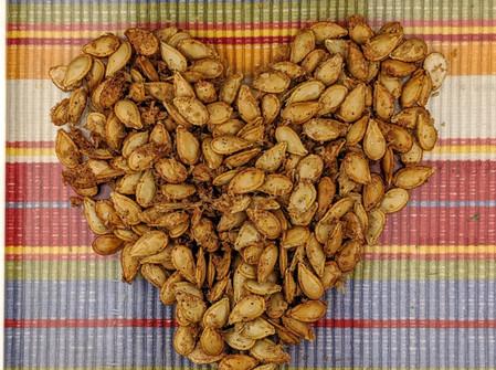 No Waste Pumpkin Seeds (Gluten Free/Vegan)