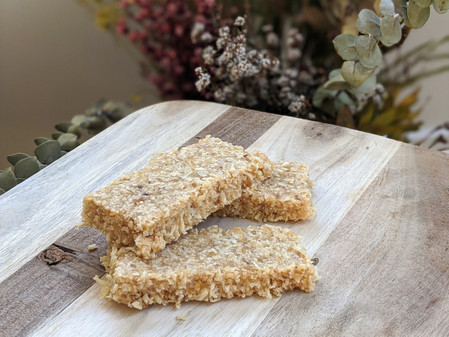 Lemon and Macadamia Bars (Gluten Free/Vegan)