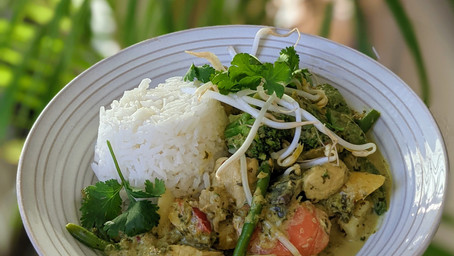Healthy Green Curry (Gluten Free and Dairy Free)