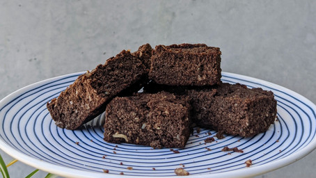 Coconut brownies (Gluten Free/Dairy Free/No Refined Sugar)