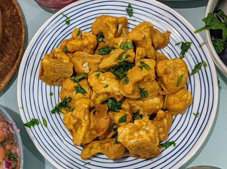 Baked Cauliflower Chickpea Bites (Vegan/Gluten Free)