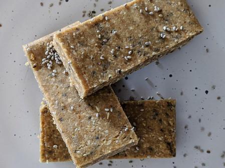 Chia Fudge Bars (Gluten Free/ Vegan/ No Bake)