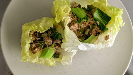 Turkey San Choy Bow (Gluten Free/Dairy Free/Low Fat)
