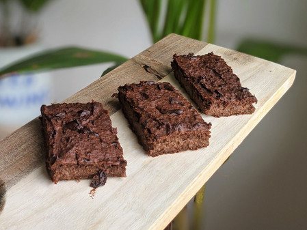 Sweet Potato and Hazelnut Brownies (Gluten Free/Vegan/No Refined Sugar)