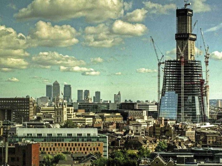 Shard under construction