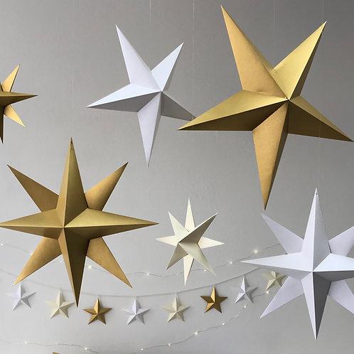 Tutorial Estrellas de Papel