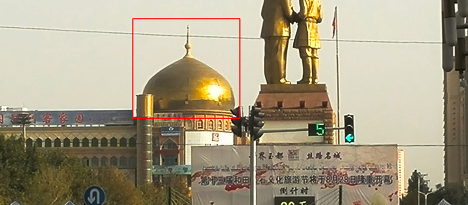 China Destroyed 80% of Domes and Towers before Completely Demolishing 5000+ Mosques in Xinjiang