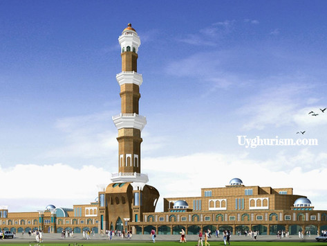 China Might Tear Down The Tallest Minar in the Uyghur Homeland